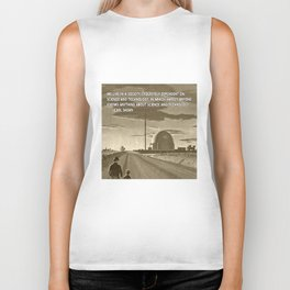 Science and Technology Quote Carl Sagan Biker Tank