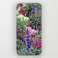 sweden iPhone & iPod Skins featuring Sweden Flowers by Cynthia del Rio