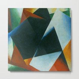 "Lyubov Popova ""Architectonic Painting"" 1 Metal Print"