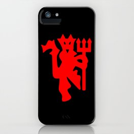 The Red Devil iPhone Case