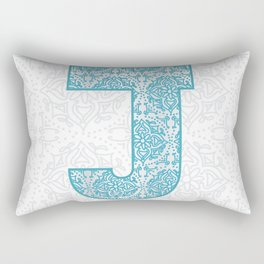 Starts with J Rectangular Pillow