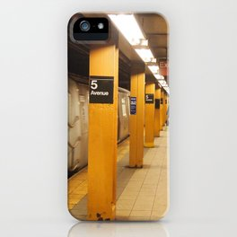 5th ave iPhone Case