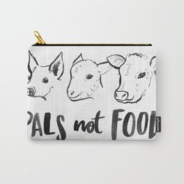 Pals Not Food Illustration by Laura Tubb Carry-All Pouch