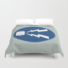 Sound the Monster Horn! Duvet Cover