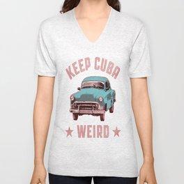 Weird Cuba Unisex V-Neck