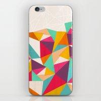 diamond iPhone & iPod Skins featuring Diamond by Kakel