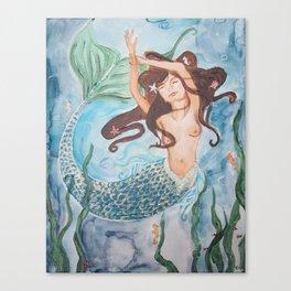 Mermaid Muirgen Canvas Print