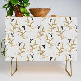 Hummingbird & Flower II Credenza