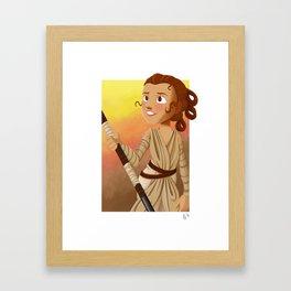 Little Rey Framed Art Print