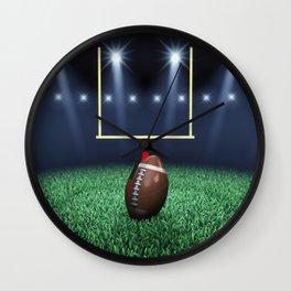American Football stadium Wall Clock