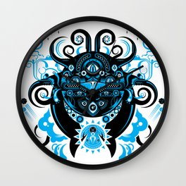Lovecraftian Cosmic Horror Wall Clock