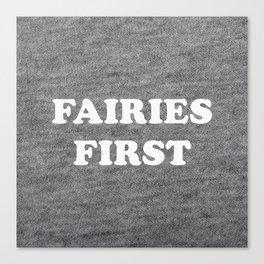 Fairies first Canvas Print