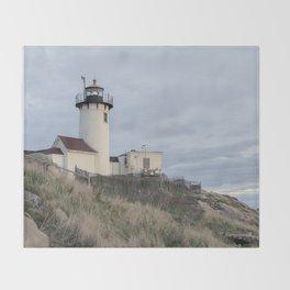 Eastern Point Lighthouse Throw Blanket