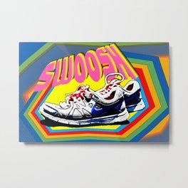 Swoosh Metal Print