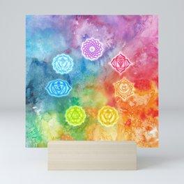 Chakras Mini Art Print