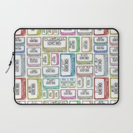 Tape Mix 2 Vintage Cassette Music Collection Laptop Sleeve