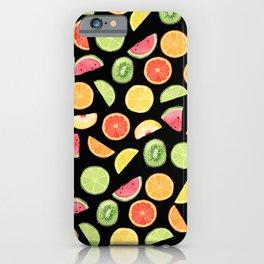 Night Fruit Salad iPhone Case