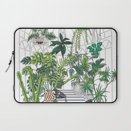 greenhouse illustration Laptop Sleeve