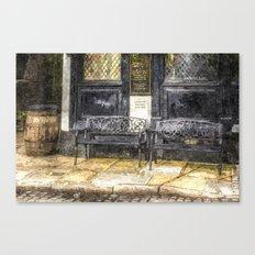 Pub Resting Place Art Canvas Print