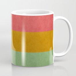 """Spring pastel horizontal lines"" Coffee Mug"