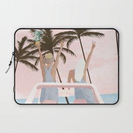 Beach Spring Break Laptop Sleeve
