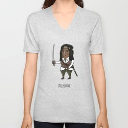 Michonne Unisex V-Neck