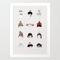 miyazaki Art Prints featuring Miyazaki 's World by Jarvis Glasses