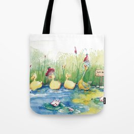 DUCK WASHER Tote Bag