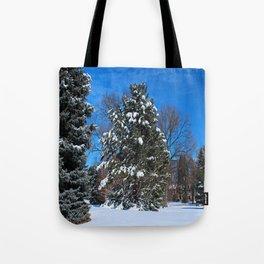 Tenacious Winter Tote Bag