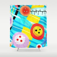germany Shower Curtains featuring Langeoog Germany by Ruth Fitta Schulz