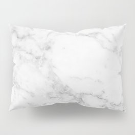 White Marble Edition 2 Pillow Sham