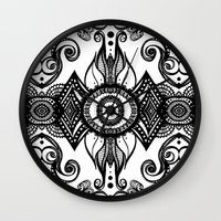 cosmic Wall Clocks featuring Cosmic by GBret