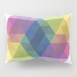 Fig. 030 Colorful Hexagon ZigZag Pillow Sham
