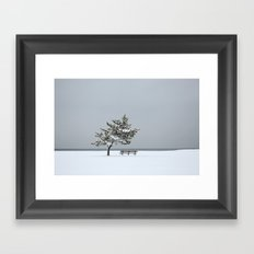 Lonesome Winter Framed Art Print