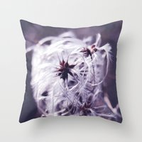 coconut wishes Throw Pillows featuring Wishes by Sirka H.
