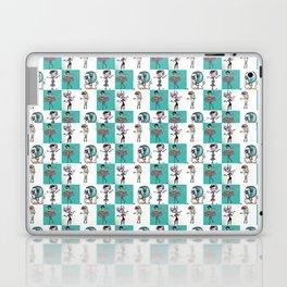 Checkered Mimes Laptop & iPad Skin