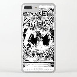 Varney the Vampire Clear iPhone Case