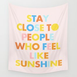 Sunshine People Wall Tapestry