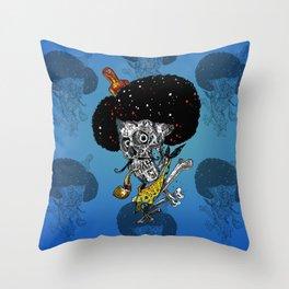 afro skulls - 2014 Throw Pillow