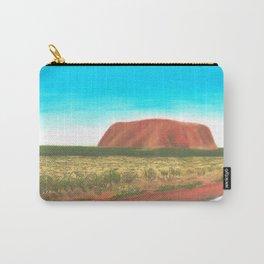 Australian Landscapes - Uluru Carry-All Pouch