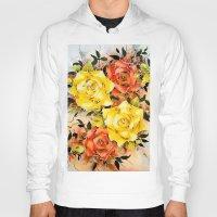batik Hoodies featuring BATIK FLOWERS  by Acus