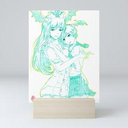 Morrigan and Lilith 04 Mini Art Print
