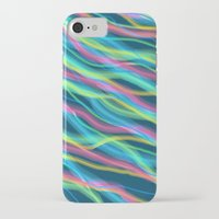80s iPhone & iPod Cases featuring 80s Ripple by Beth Thompson
