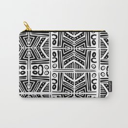 Handmade Print Pattern Carry-All Pouch