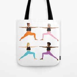 We Are Warriors Tote Bag