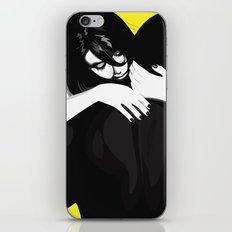 Couple in love iPhone & iPod Skin