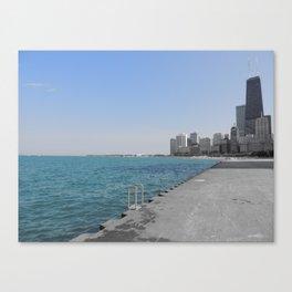 Chicago Summer Canvas Print