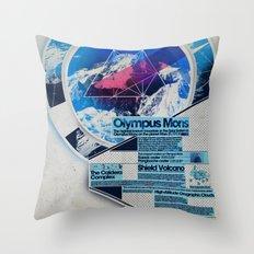 Olympus Mons - Exploration #3 Throw Pillow