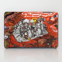 ashton irwin iPad Cases featuring Islands in Red Sea by Maethawee Chiraphong