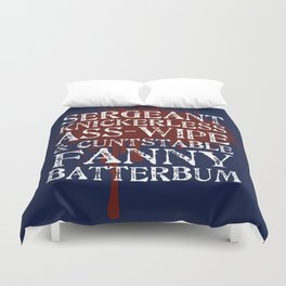 The Andies are Mean Duvet Cover